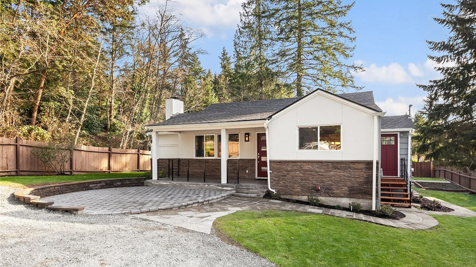 Sunny, gorgeous home, luxuriously remodeled with no detail spared, on a huge, private, level lot.