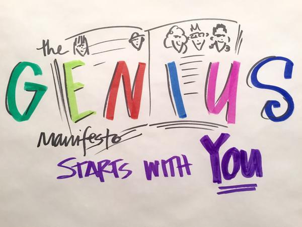 Expand Creative Genius YOU