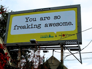 Creative Genius Portland - Billboard by The Joy Team