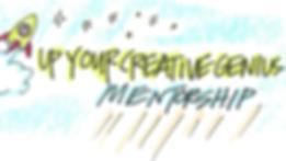 Up Your Creative Genius Mentorship