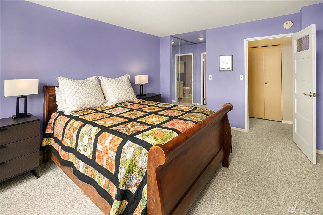 Master bedroom with spectacular views, tons of storage and en-suite...