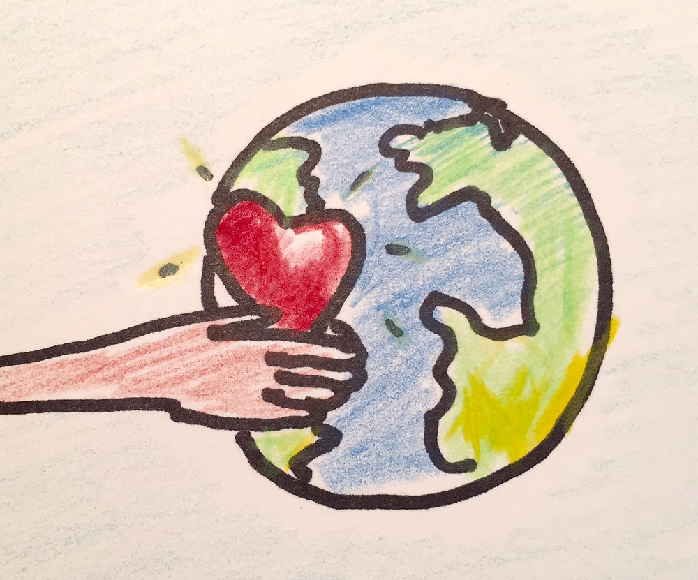 Reach Through and Give Love