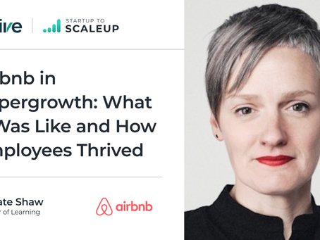Airbnb in Hypergrowth: What It Was Like and How Employees Thrived