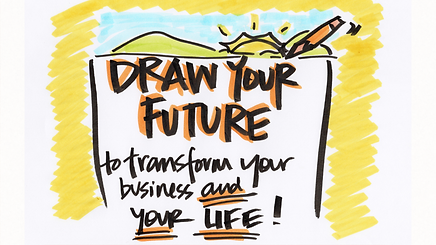 Your mission, should you choose to accept it, is to learn to draw a powerful picture that will take you from goal setting to goal getting and step into the dream business and life you have always longed for.