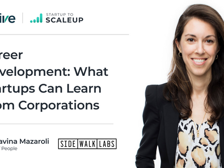 Career Development: What Startups Can Learn From Corporations
