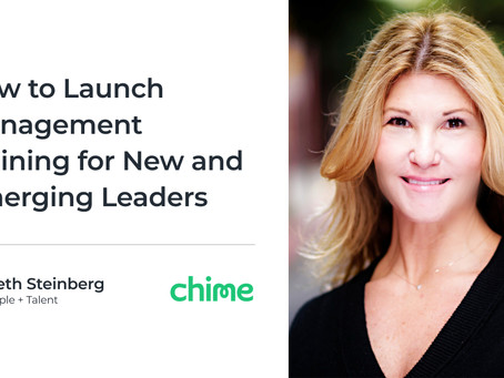 How to Launch Management Training for New and Emerging Leaders