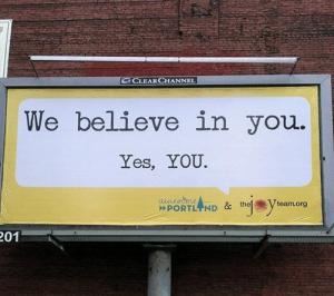 Creative Genius Portland - Billboard by The Joy Team