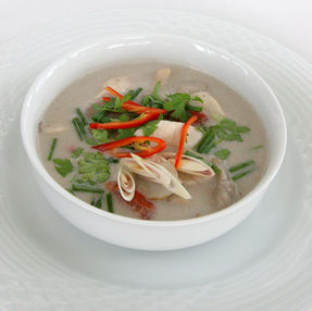 Thai soup: Tom Kha Gai