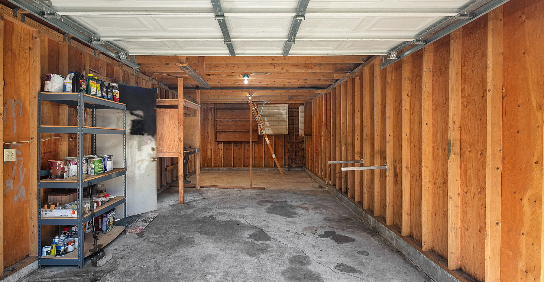 Garage/Workshop (main level)