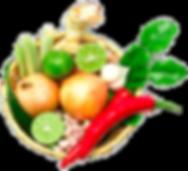 Thailändische Kochzutaten