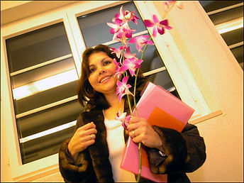 Orchideen als Abschiedsgeschenk