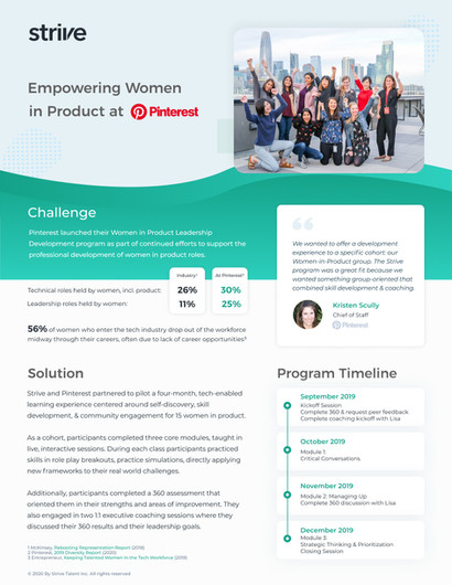 Empowering Women in Product at Pinterest