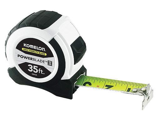 Komelon Powerblade II 35ft Tape Measure