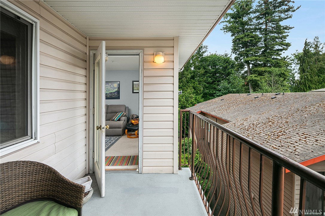 South-facing, large deck - perfect for fun and entertaining.