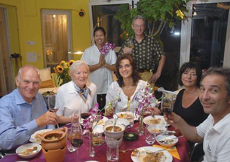 Thailändischer Gästetisch