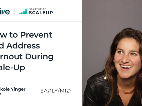 How to Prevent and Address Burnout During Scale-Up