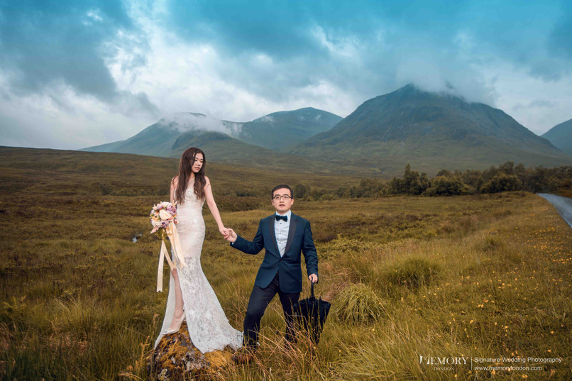 英国高地/天空岛婚纱照 苏格兰旅拍