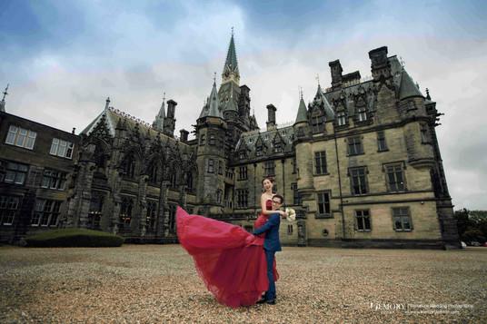 英国爱丁堡婚纱照 苏格兰旅拍