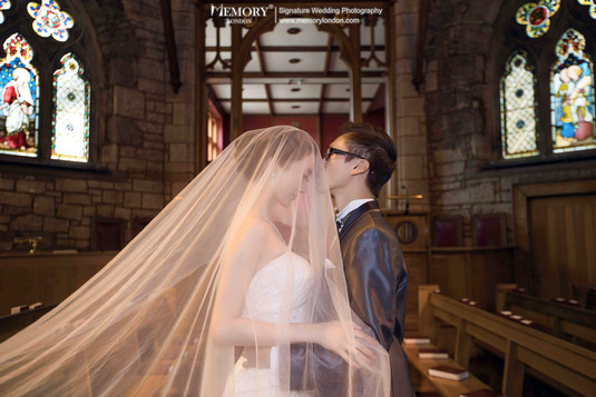 爱丁堡教堂婚纱照 苏格兰旅拍