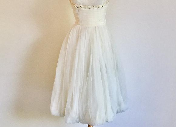 白纱洋装 Vintage White