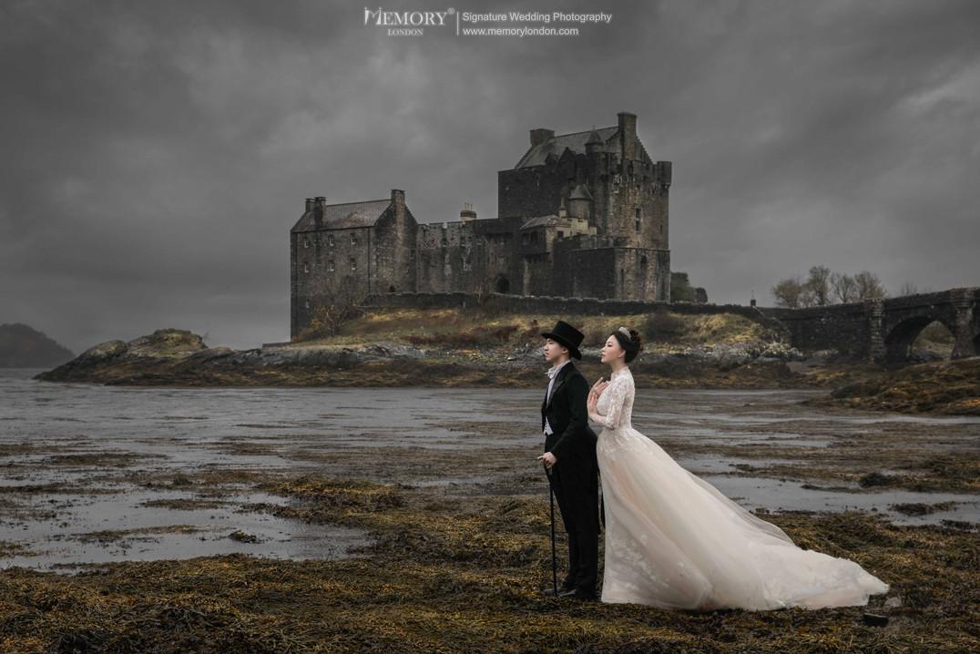 英国高地/天空岛城堡婚纱照 苏格兰旅拍