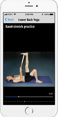 best yoga app for low back pain