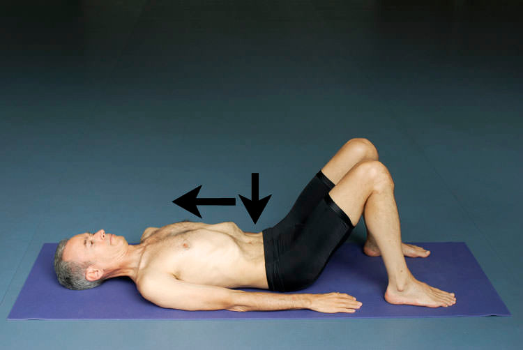 breathing exercise for the lower back