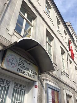 Lycée Notre-Dame de Sion à Istanbul