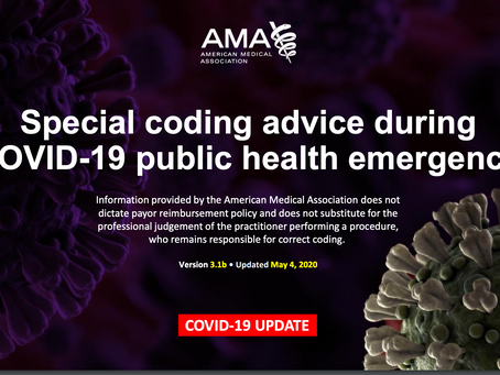 New Guidance on Coding During COVID-19