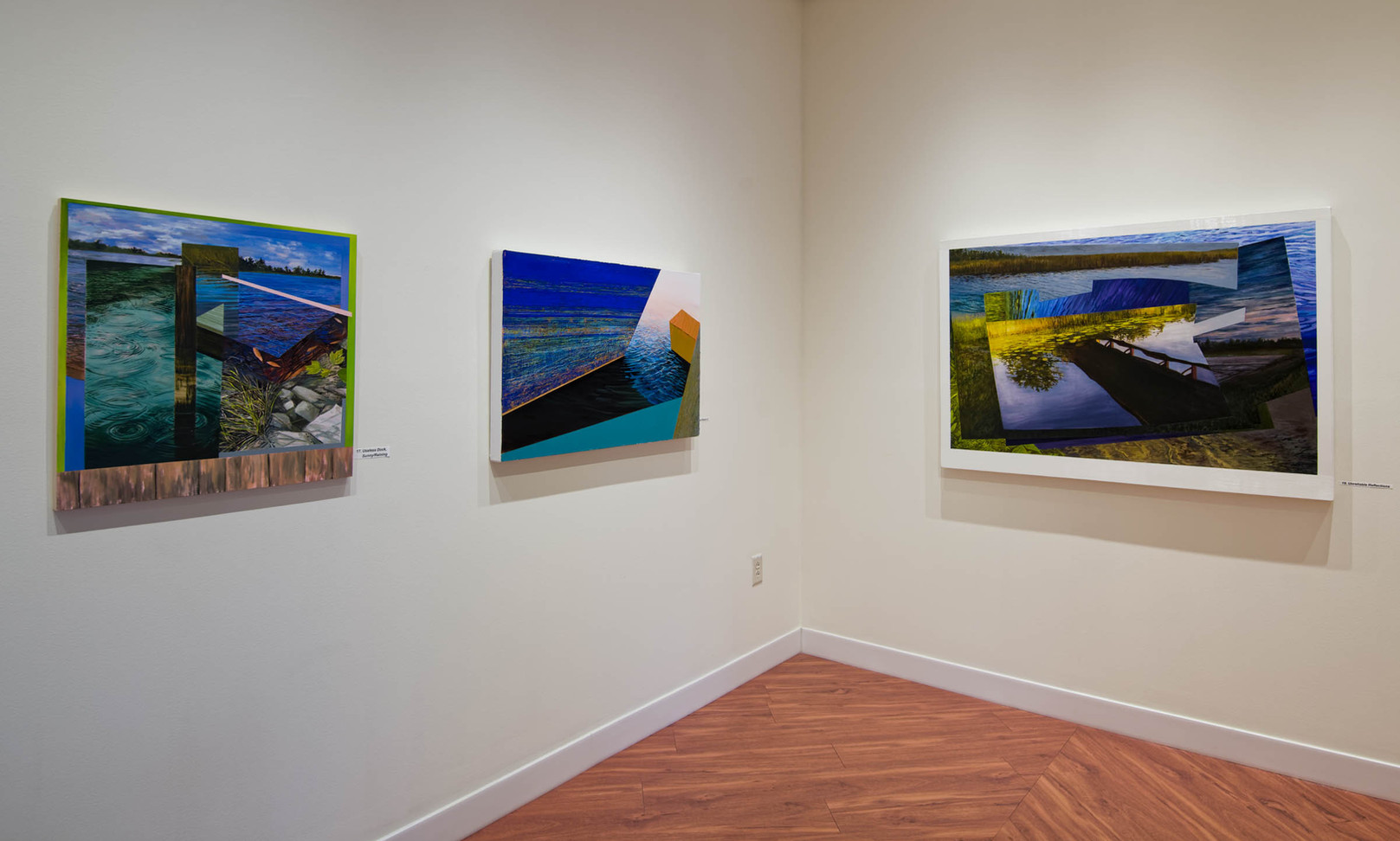 """""""Unreliable Reflections"""" Solo show Pennswood Art Gallery 2020"""