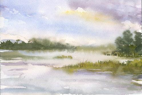 Grass Island, Fog 3