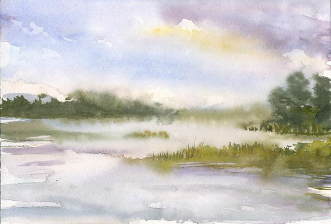Grass Island Fog 3