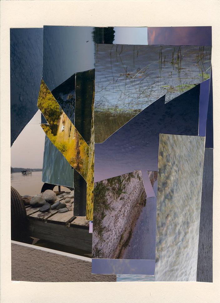Motions Stilled, Dock Collage