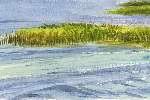 Grass Island, Wake