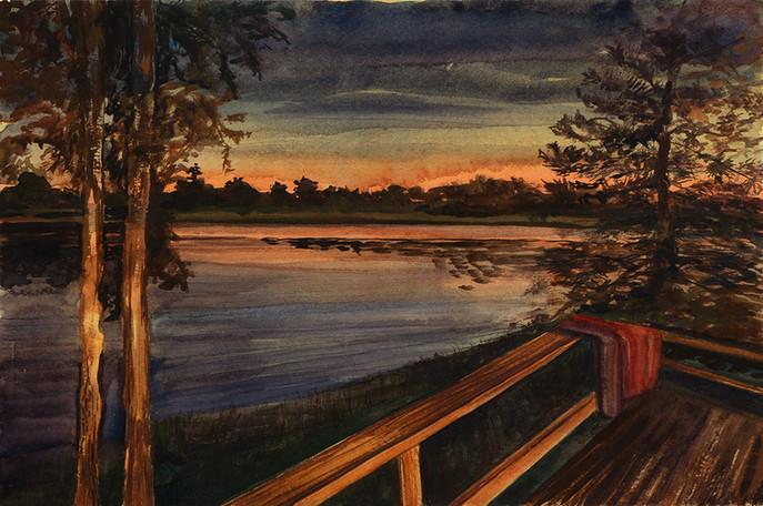 Sunset Deck, Cabin 8