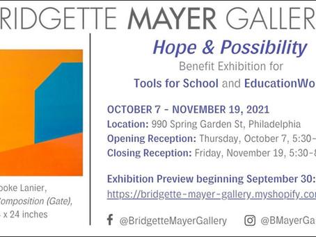 Benefit Exhibition and Philadelphia Open Studio Tours