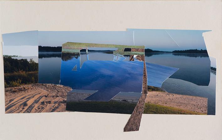 Motions Stilled, Sandscape Collage