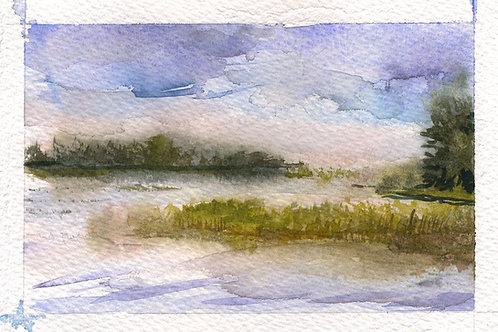 Grass Island, Fog 2