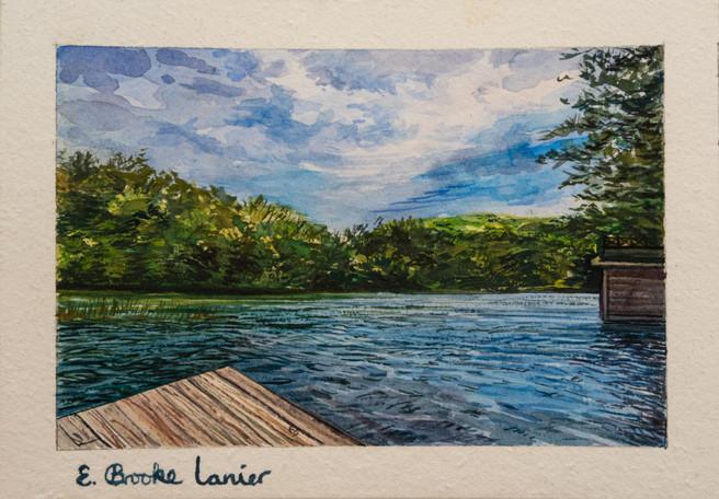 Some Lake In Georgia