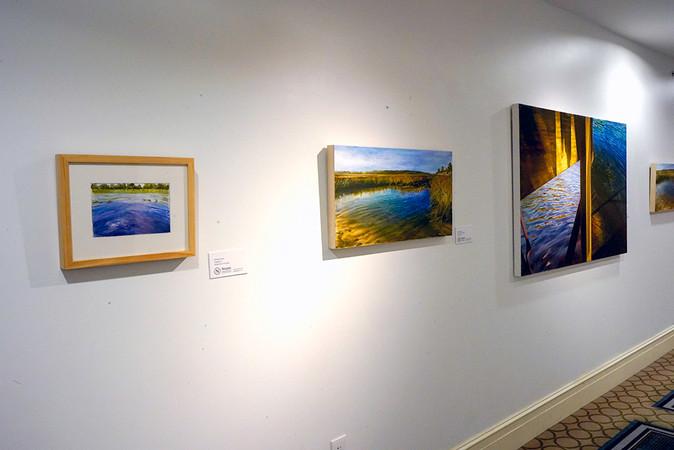 Solo show Stockton University's Noyes Museum, Seaview Gallery Galloway, NJ  2018