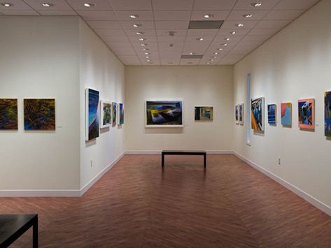 """""""Unreliable Reflections: New Works by Brooke Lanier"""" at Pennswood Art Gallery"""