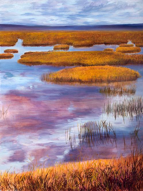 """Escapist Landscape"" archival quality giclee print"