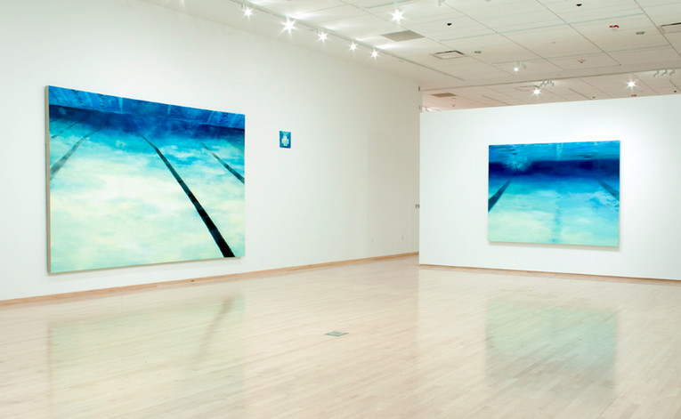 """Installation View: """"Solitude and Solidarity"""""""