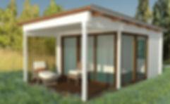 Bespoke garden office summer house