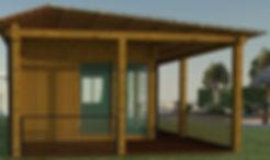 Summer House   garden office building