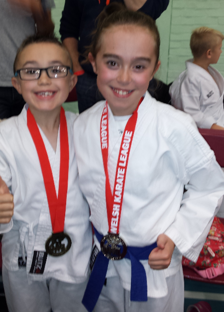 Ethan and Abbie Bridgend WKL 2015