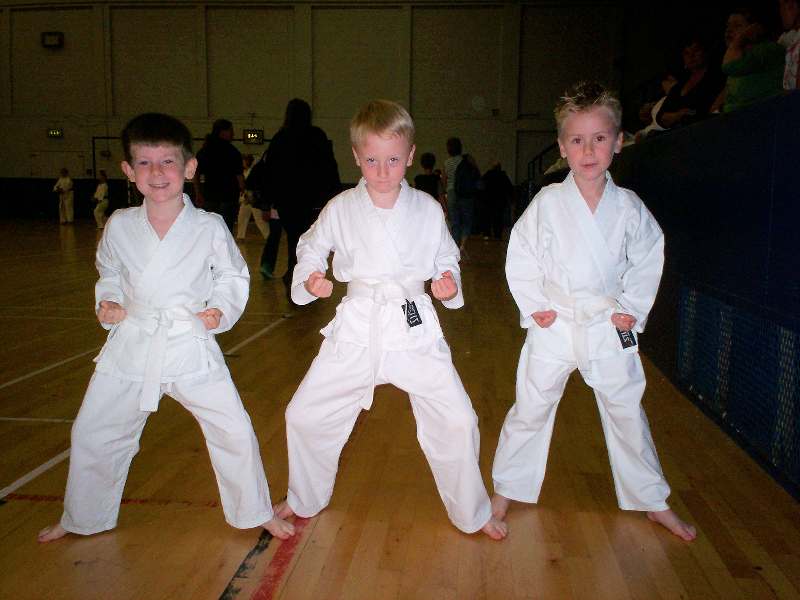 Jacob, Christian and Thomas 2006