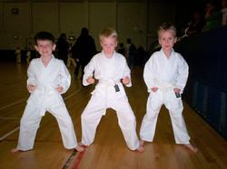 Jacob, Christian and Thomas 2006