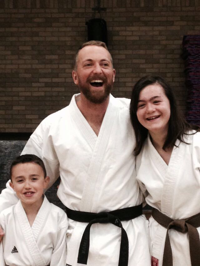 17.09.16 Ethan and Siwan Brown Belt