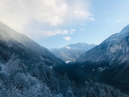 Greetings from Montafon, Austria!